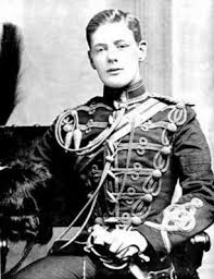 Churchill as a Cavalry Officer