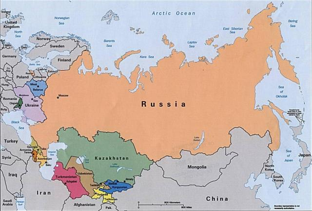 The Soviet Union featuring Russia